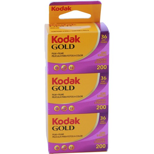 Kodak Gold 200 135/36exp pack Triplo