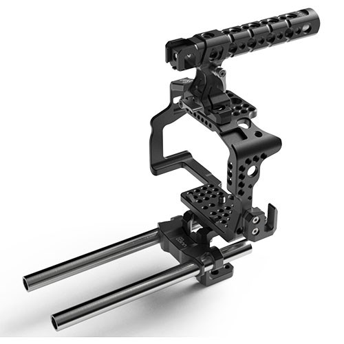 Cage + Top Handle Pro + Rod  Support (GH3 / GH4)