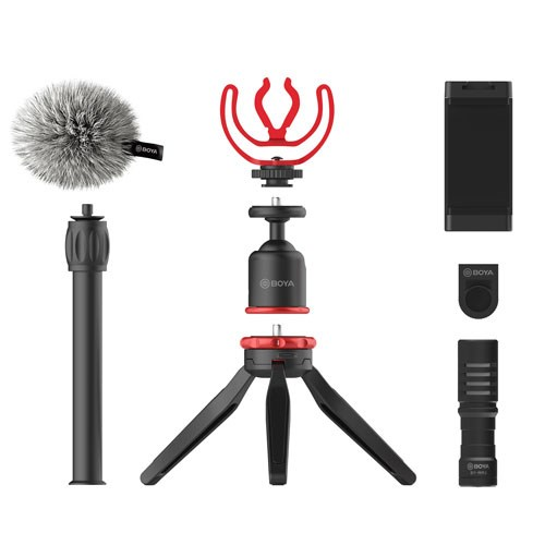 Boya BY-VG330 STANDARD VLOGGING KIT