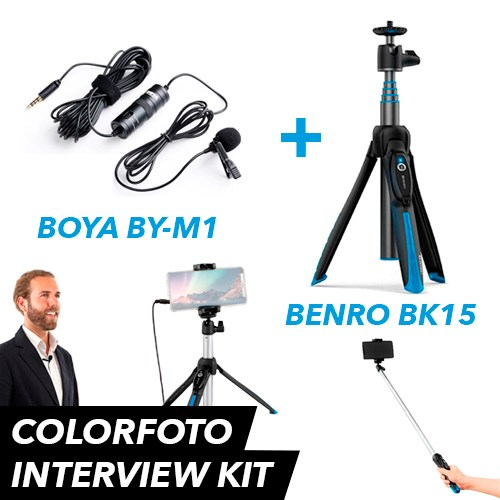 Colorfoto Interview Kit