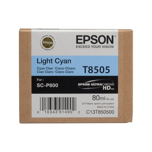 Epson Tinteiro light Cyan T8505