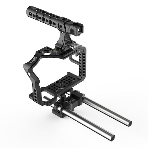 A7RII / A7SII CAGE + TOP HANDLE PRO + ROD SUPPORT