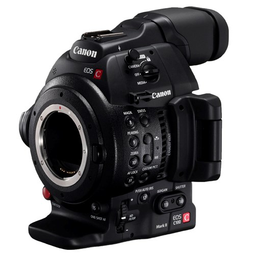 EOS C100 Mark II - Corpo
