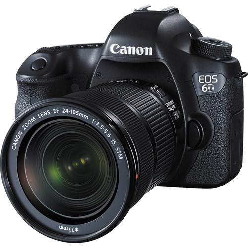 EOS 6D Kit + EF 24-105 IS STM